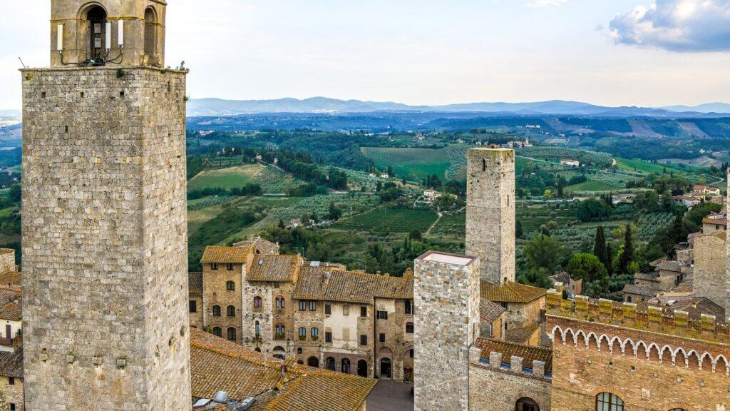 Tour de San Gimignano Chianti