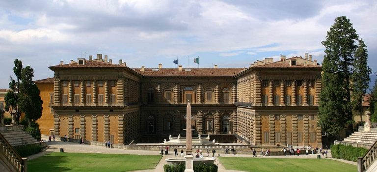 que ver en florencia Palazzo Pitti