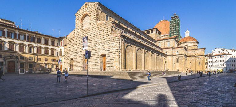 Plaza de San Lorenzo en Florencia